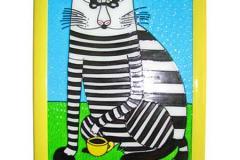 Картина - полосаты кот