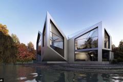 Дом архитекторов Дэвид Грюнберга и Даниэль Вулфсона