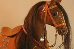 Лошадки-качалки ручной работы