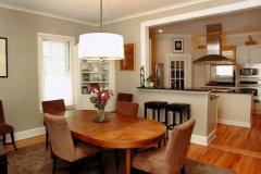 Интерьер кухни столовой