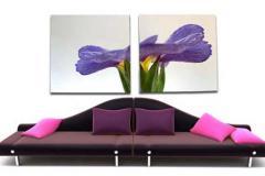 фиолетовый постер