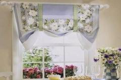 шторы в цветочек стиля Прованс