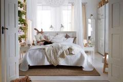 Белая спальня в стиле Прованс