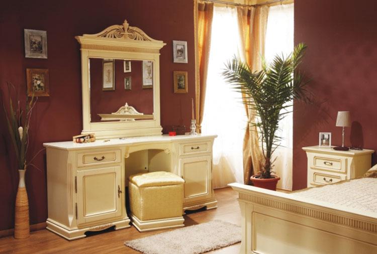 Туалетные столики в спальню, фото