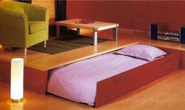 купить выдвижную кровать